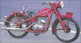 1949 honda dream type D