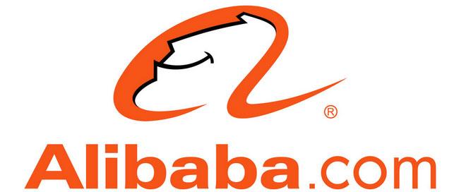 شعار موقع علي بابا كما صممه جاك ما بنفسه