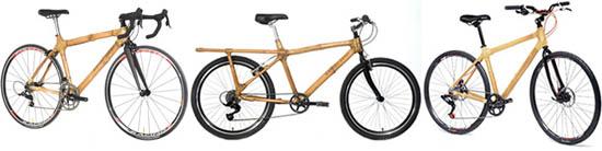 هكذا تبدو الدراجات المصنوعة من البامبو