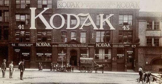 صورة مقر كوداك في العاصمة لندن في عام 1902