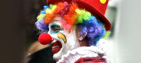مدونة البرنس... Clown-red-nose-flickr