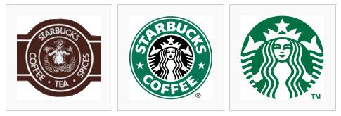 تطور شعار ستاربكس على مر السنين