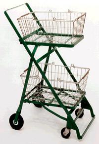 هكذا بدت أول عربة تسوق