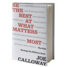ملخص كتاب كن الأفضل في الأمور الأكثر أهمية