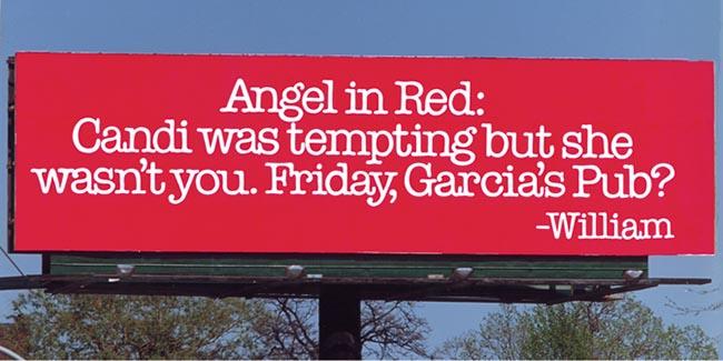 التسويق بالكذب - إلى آنجل ذات الرداء الأحمر - إعلان 5