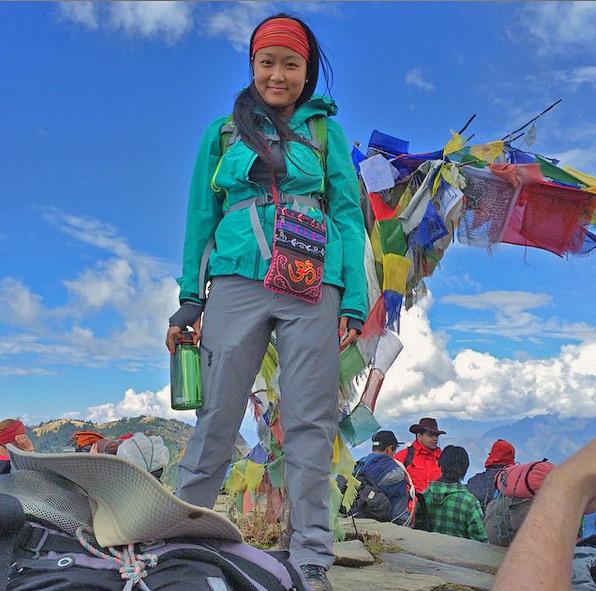 فيرونيكا شو في نيبال
